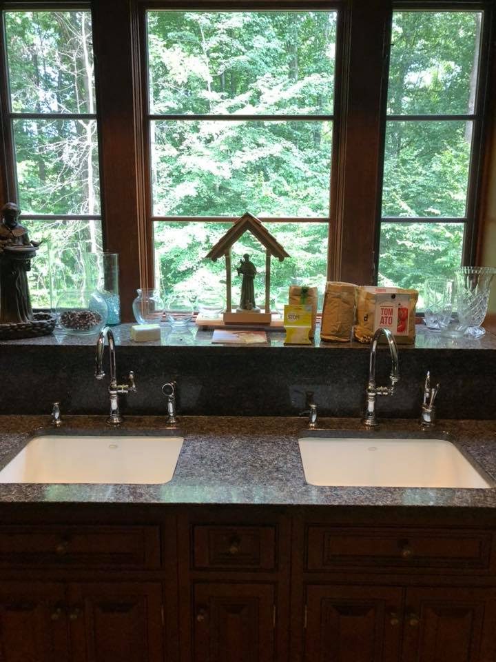 Faucet installation by MJW Plumbing Company in Vienna VA